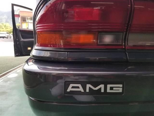AMG専用リヤガーニッシュ