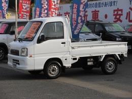 スバル サンバートラック 660 TB 三方開 4WD エアコン 保証付 5速マニュアル